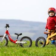 Mit Laufrädern von Cannondale, Woom und Early Rider werden Kinder schnell mobil.