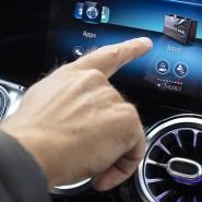 Mit Fingertipp im Mercedes GLB