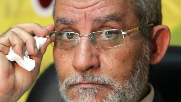 Führer der Muslimbruderschaft Mohammed Badia