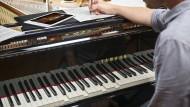 Da spielt der Pianist nicht mit