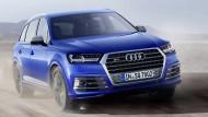 Audi pumpt mit Hightech den jüngst erneuerten Q7 auf und veredelt ihn zum SQ7.