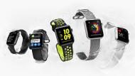 Jetzt auch für den Sprung ins Wasser: Apple Watch 2