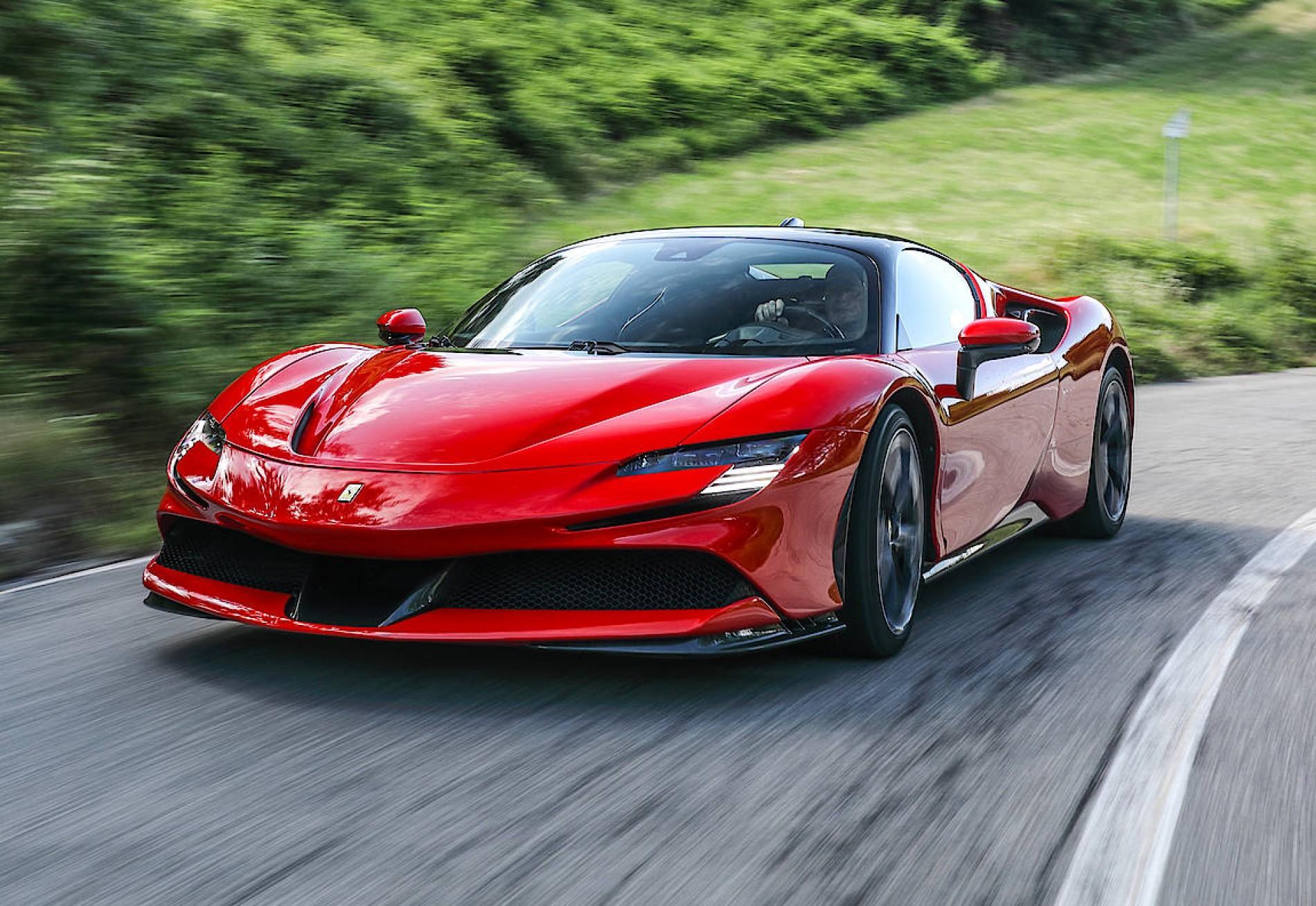 Probefahrt Ferrari Sf90 Stradale Hybrid