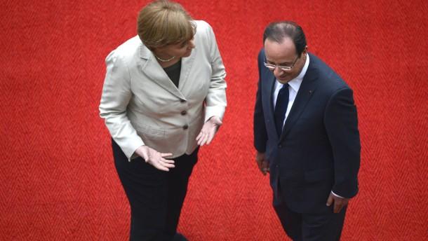 "Merkel: ""Wir möchten, dass Griechenland im Euro bleibt"""