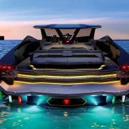 Aus diesem Blickwinkel dürften die meisten anderen Wassersportler das Boot sehen.