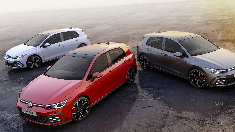 Wer es flotter mag, den stellt Volkswagen im Zeichen des GT vor die Qual der Wahl: GTI, GTD oder GTE?