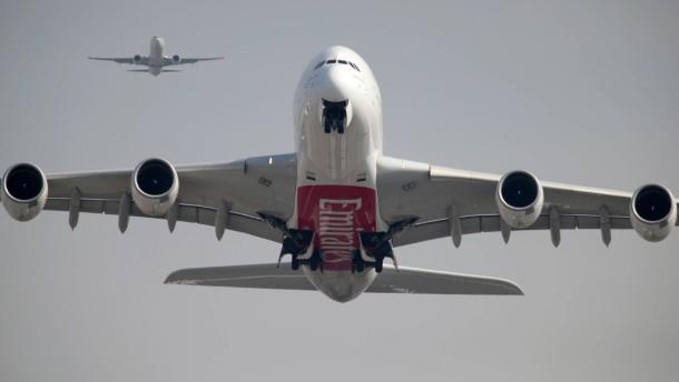 Wann darf ein A380 mit drei Turbinen fliegen?