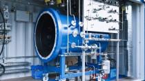Das Herz der Sunfire-Anlage: Hier spaltet sich bei 800 Grad der Dampf in Wasserstoff und Sauerstoff
