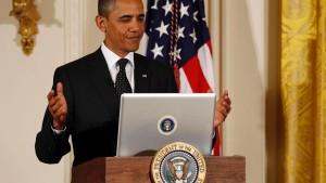 Obama antwortet auf 140 Zeichen