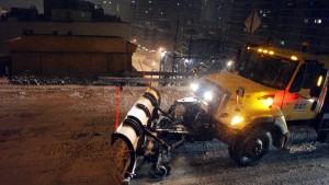 Schwerer Schneesturm im Nordosten Amerikas