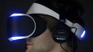 Signifikant für das Aussehen der Playstation VR: der leuchtende Rand