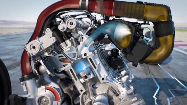 Sorgt für kühle Luft im Motor: Wassereinspritzung in das Ansaugrohr