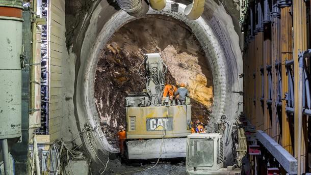 Ein Tunnel als Erbstück