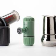 So kann es auch laufen: Aeropress, Nanopress und eine Caffettiera von Bialetti