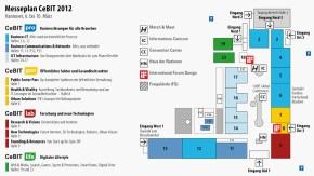 Cebit 2012: Alle Hallen und Service-Stellen im Überblick