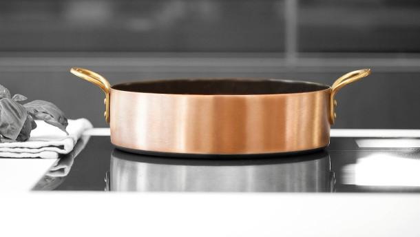 Sticht Kupfer Edelstahl?