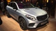Mercedes' Antwort auf den X6: das GLE Coupé