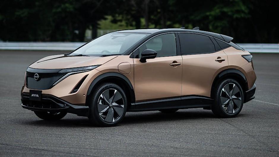 Nissan feierte die Weltpremiere seines Ariya.