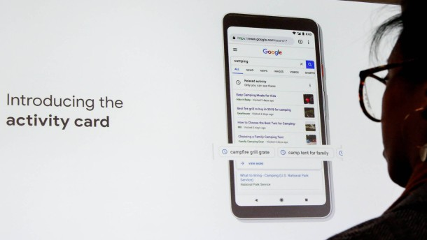 Google präsentiert neue Suchfunktionen