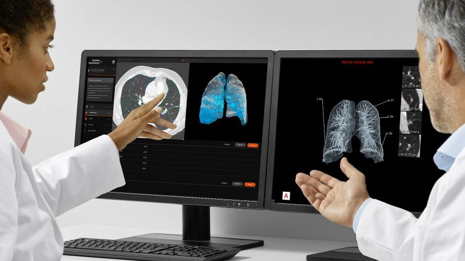 Was sagen uns die Bilder? Beurteilung von CT-Aufnahmen. Löst der Computer diese Aufgabe in Zukunft besser?