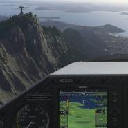 Tour über Rio de Janeiro in der Extra 330LT. Mit der Kunstflugmaschine lassen sich imposante Loopings und Rollen fliegen. Die Modelle der 300-Serie gehören seit Jahren zur Standardflotte des Flugsimulators.