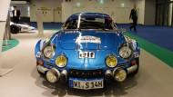 Auf Rallyes ein Star seiner Zeit: Renault Alpine