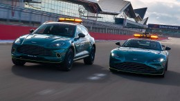 Aston Martin stellt Safety Cars in der Formel 1
