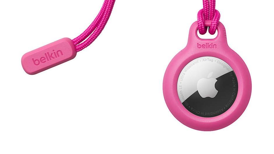 Geht noch teurer als von Belkin: Ein Airtag-Schlüsselanhänger aus Leder kostet bei Apple 40 Euro.