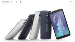 Google stellt Nexus 6 und 9  vor