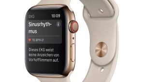 EKG-Funktion der Apple Watch in Europa verfügbar