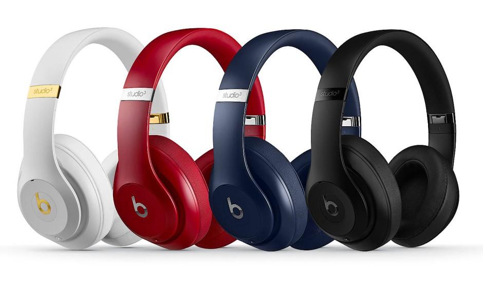 Sehen aus wie immer, klingen aber anders: Beats Studio Wireless 3 in vier Farben.