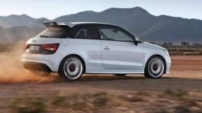 Audi A1 quattro /Fahraufnahme