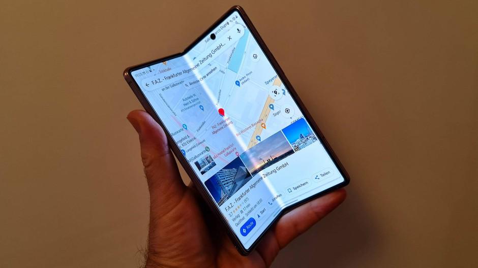 Soll das zweite Mal klappen: das Samsung Fold 2