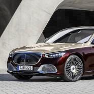 Handgemalt: Mercedes-Maybach