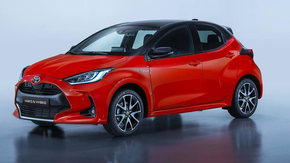 Kurzzeitelektriker: Toyota Yaris