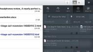 Good Reader mit Dropbox-Anbindung auf dem iPad