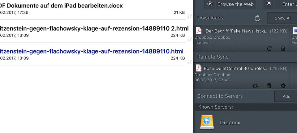 Ipad Co So Bearbeitet Man Dokumente Mit Dem Tablet Digital Faz