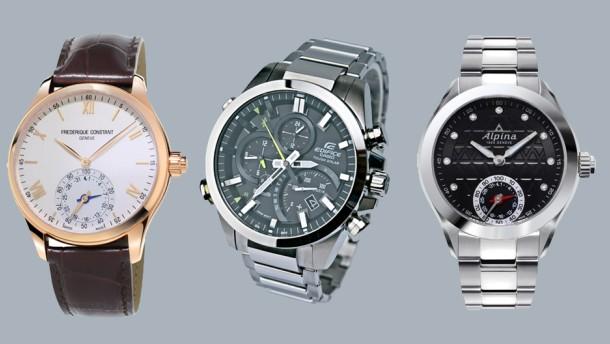 Auch noble Uhren werden smart