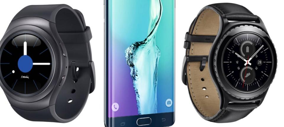 Samsung S6 Edge+ und Smartwatch Gear S2 im Test