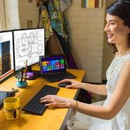 Microsoft Designer Desktop mit Bluetooth-Anbindung