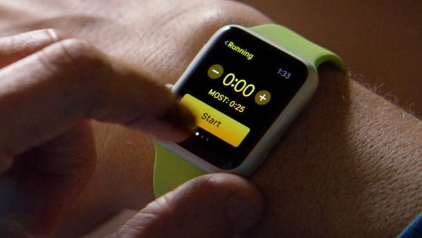 So tickt die Apple Watch