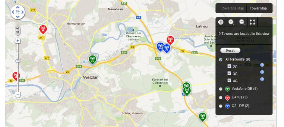 Lte Masten Karte.Open Signal Maps Mit Schwarmintelligenz Auf Der Suche Nach Funkzellen