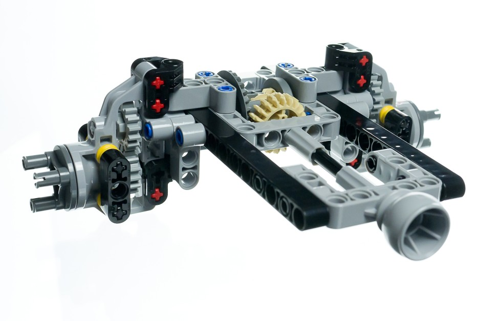 bilderstrecke zu lego technic unimog 400 wir bauen uns. Black Bedroom Furniture Sets. Home Design Ideas