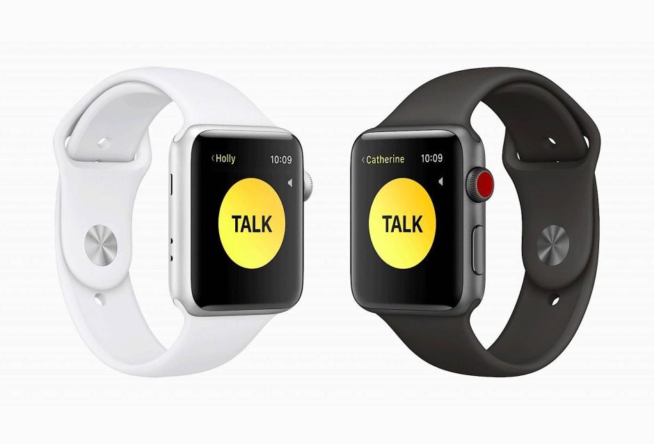 Let's talk: Das Walkie-Talkie ist zurück, als App auf der Apple Watch