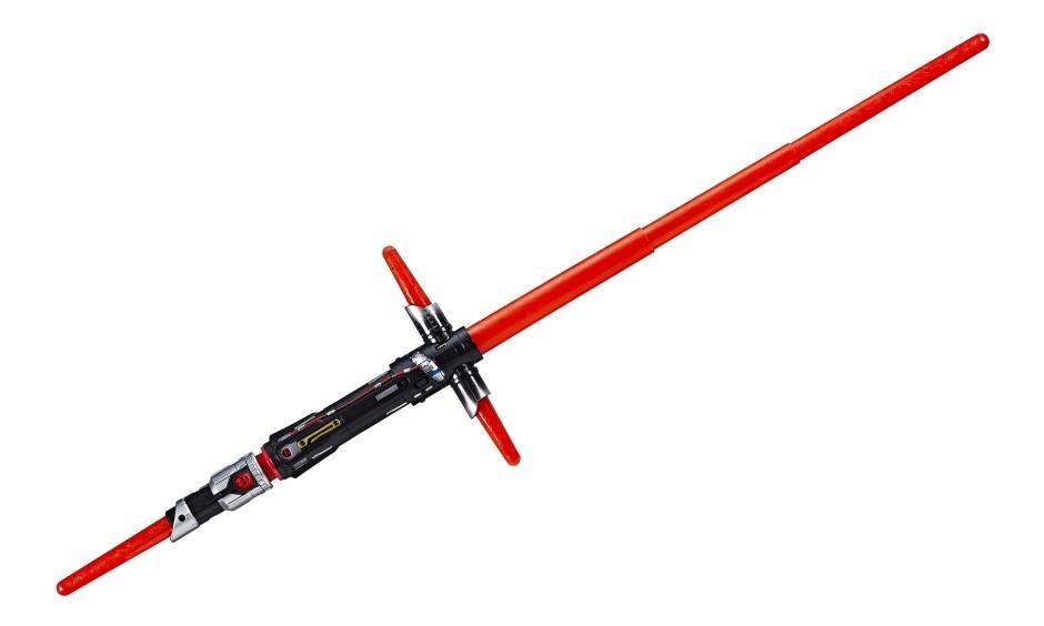 Laserschwert der Extraklasse: Kylo Ren kämpft mit dieser Waffe