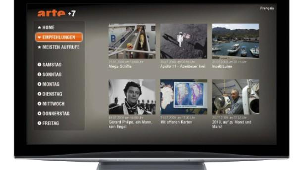 Einheitstechnik für Web-TV