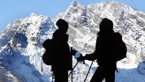 Muss ja nicht gleich der Mont Blanc sein