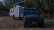Campen in der Wildnis, dort, wo es Spaß macht.