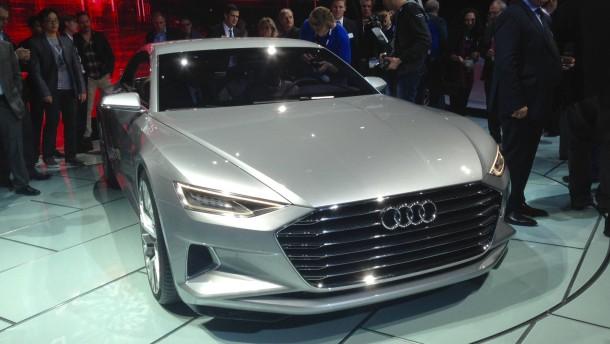 Audi stiehlt allen die Show