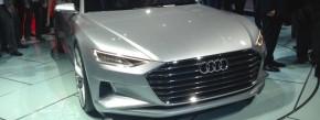 Grillmeister: Audi zeigt seine Zukunft. Außen selbstbewusst, innen pure Linien wie ein iPhone. So sieht der nächste A8 aus. Und ein Coupé A9 wird es auch geben.
